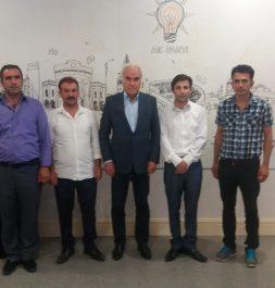 Ak Parti Çevre Şehir Kültür Başkan Yardımcısı sayın Nevzat Ceylan'ı Ziyaret Ettik