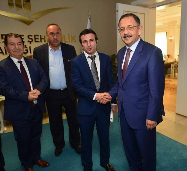 Çevre Ve Şehircilik Bakanı Sayın Mehmet Özhaseki'yi Ziyaret Ettik.