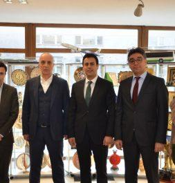 Türk-İş Sendikası'nı Ziyaret Ettik
