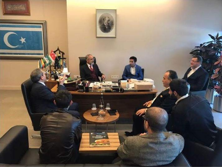 Cumhurbaşkanı Başdanışmanı sayın Yalçın Topçu'yu Ziyaret Ettik