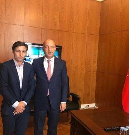 Cumhurbaşkanı Özel Danışmanı Mücahit Arslan'ı Ziyaret Ettik.