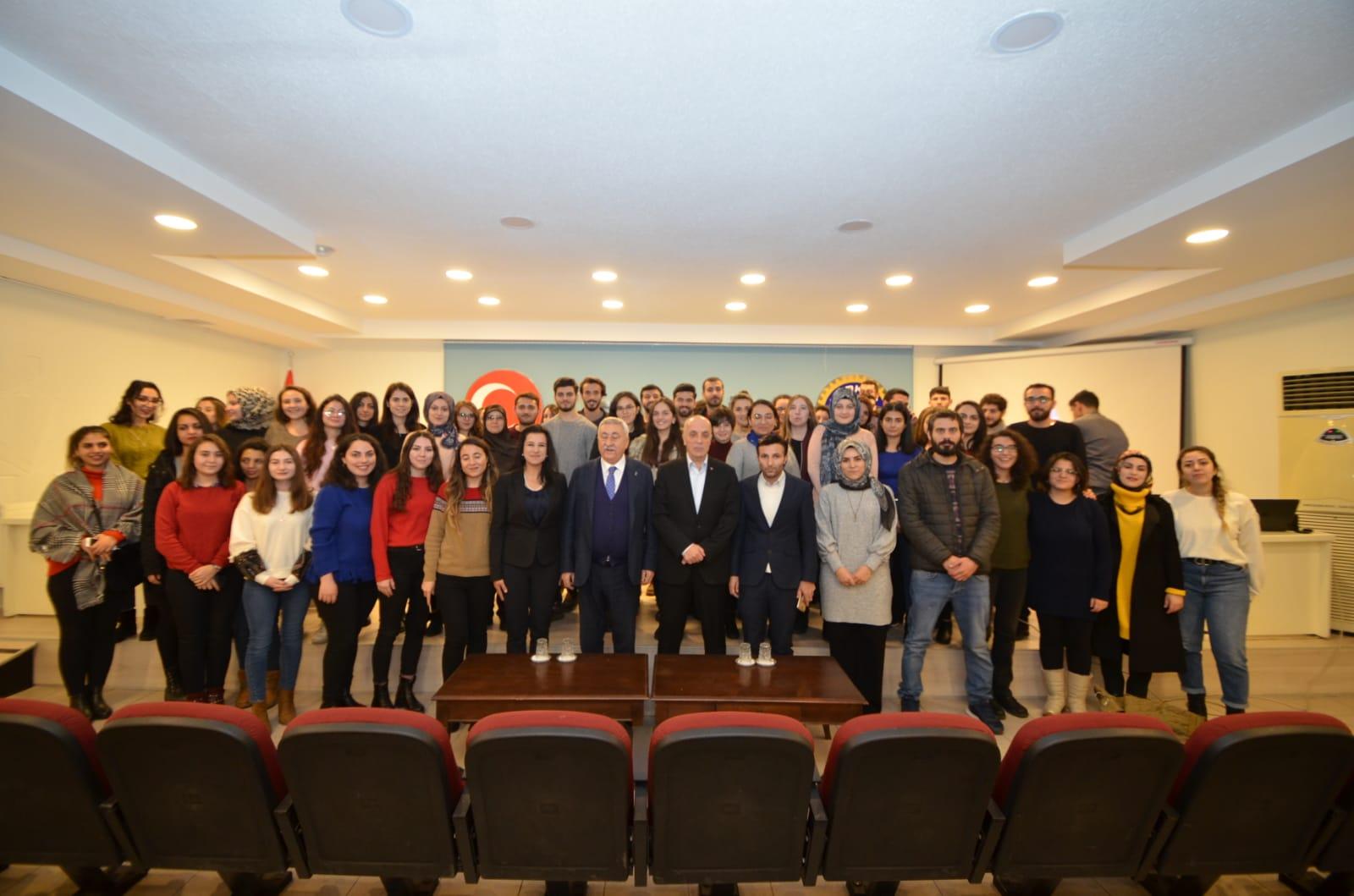 Türk-İş Sendikası'na Destek Ziyareti