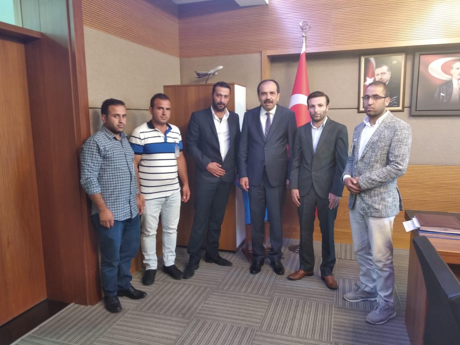 TBMM Çevre Komisyonu Başkanı sayın Muhammet Balta'yı makamında ziyaret ettik.