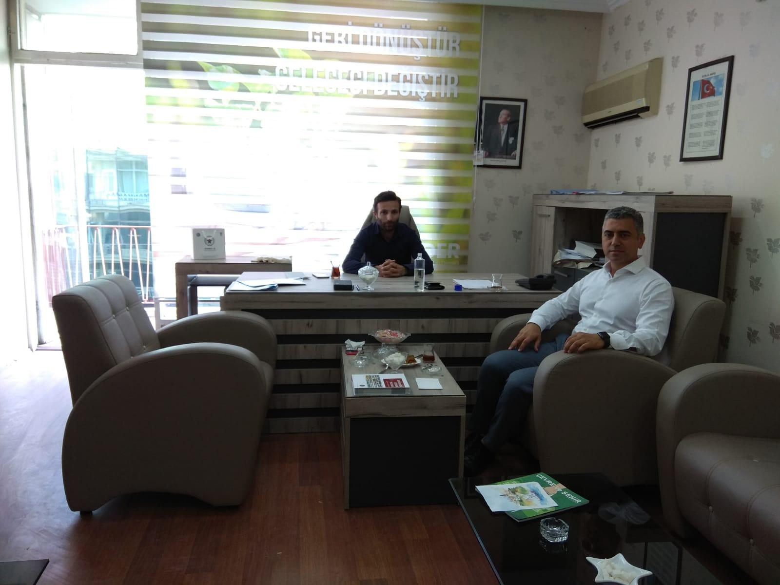 AGED Genel Sekreteri Sayın Osman Kaytan Derneğimizi Ziyaret İle Bizleri Memnun Etti.