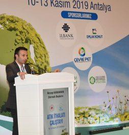 Antalya da Çevre Şehircilik Bakanlığı tarafından düzenlenen İthal Atık Çalıştayı'na katıldık